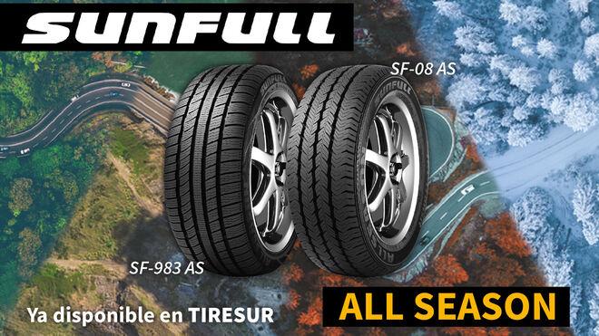 Tiresur completa su gama de neumáticos con los nuevos Sunfull All Season