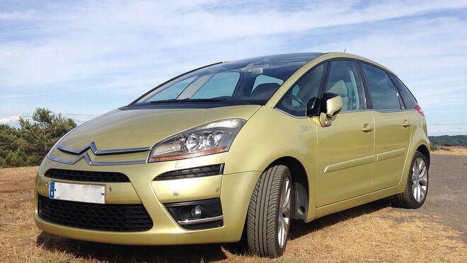 Avería resuelta en un Citroën C4 Picasso que entra en modo economía
