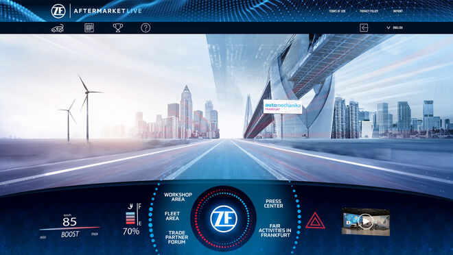 "Automechanika Frankfurt acogerá ""ZF Aftermarket Live"""