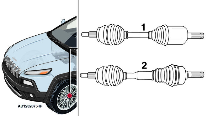 Solución a un problema de vibración en un Jeep Cherokee al acelerar