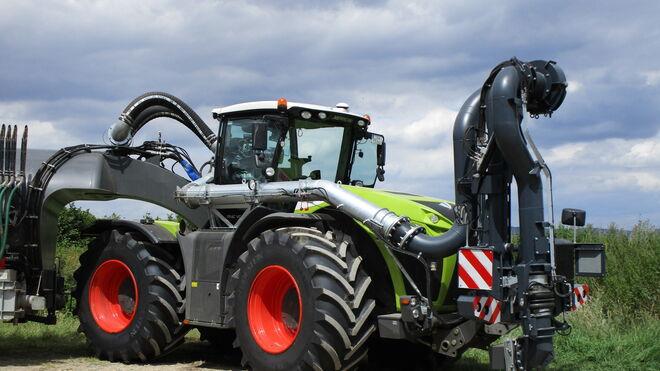 Claas equipa en origen con Vredestein VF Traxion Optimall sus tractores Xerion