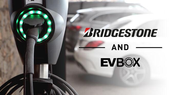 Bridgestone y EVBox instalarán 3.500 puntos de recarga en Europa hasta 2026