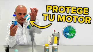 Juan Francisco Calero pone a prueba la sustancia activa de Tunap con 4 test en el laboratorio