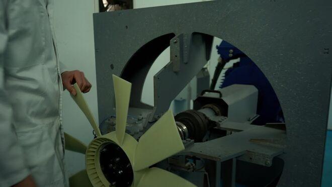 Simulación CFD de ventiladores en sistemas de refrigeración Cojali