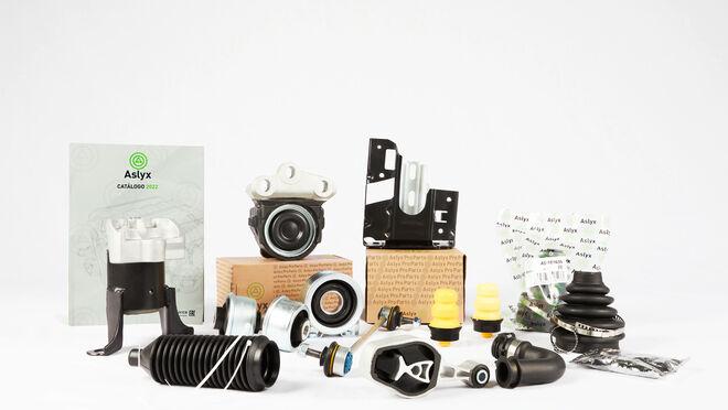 Aslyx Proparts, nueva empresa para el recambio de caucho-metal