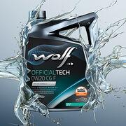Nuevo lubricante Wolf OfficialTech 0W20 C6 F para motores Ford EcoBlue y ACEA C6