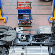 Diagnóstico de chasis de camiones
