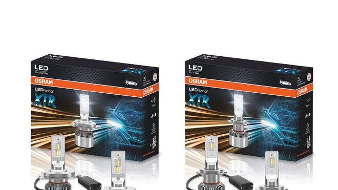 Osram lanza LEDriving XTR, nuevas lámparas de calidad LED