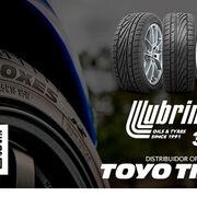 Lubrimed, distribuidor oficial de Toyo Tires