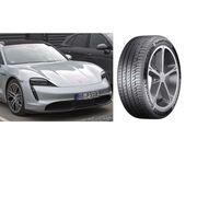 Continental equipa con sus neumáticos premium el Porsche Taycan