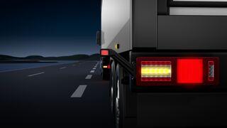 Nuevo piloto trasero full-LED de Hella para camión y tráiler