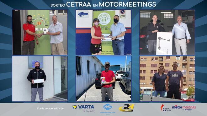 """Cetraa entrega los premios a los ganadores del concurso """"Cetraa en Motormeetings"""""""
