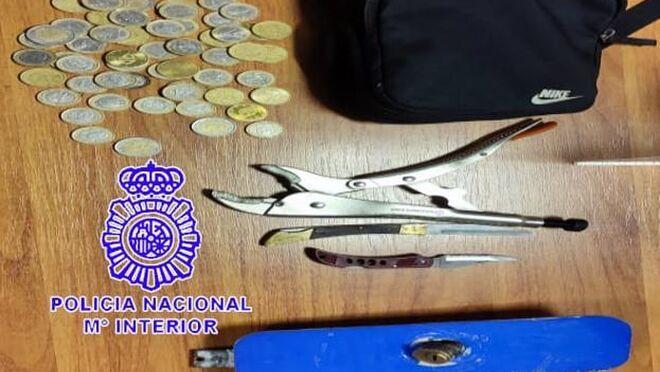 Detenidas dos personas por intentar robar en un taller de Argales (Valladolid)