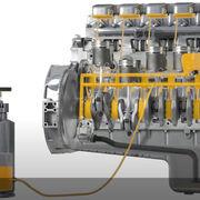 Cómo realizar el llenado a presión del motor con aceite