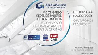 El I Congreso de Redes de Talleres de Iberoamérica de Groupauto Internacional, el 16 de octubre