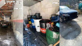 Denunciado un taller clandestino con enganche ilegal a la red eléctrica en Abarán (Murcia)