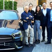 Glasurit presentó sus productos en la reunión de concesionarios de Mercedes