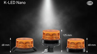 Hella presenta K-LED Nano, el rotativo más pequeño del mercado