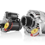 Bosch amplía su gama de alternadores y motores de arranque